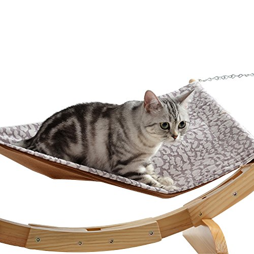 cat bed hammock style by pet magasin   pet lounge perch for small medium large cats  u0026 small     bed hammock style by pet magasin   pet lounge perch for small      rh   bestdoggie