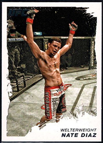 MMA UFC 2011 Topps UFC Moment of Truth #125 Nate Diaz