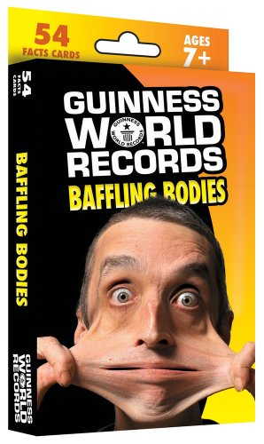 Guinness World Records Baffling Bodies Learning Cards by Carson-Dellosa (Image #1)
