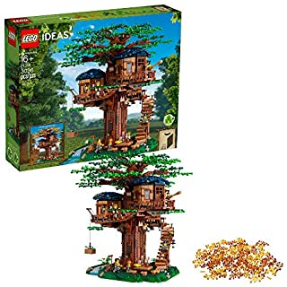 LEGO Ideas 21318 Tree House Building Kit (3,036 Pieces)