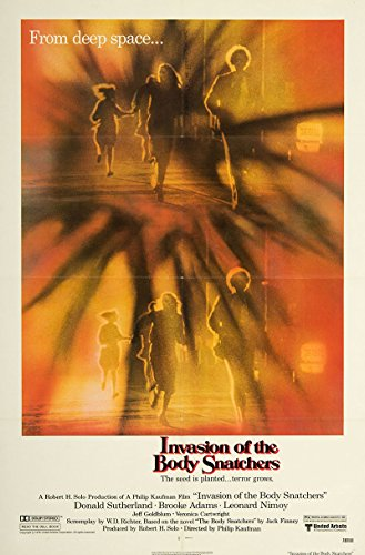 Invasion of the Body Snatchers 1978 Authentic Original Movie Poster Near Mint Jeff Goldblum