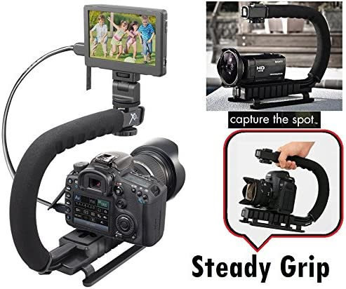 Professional Stabilizing Handle Grip Bracket For Canon Vixia HF G60 W10 W11