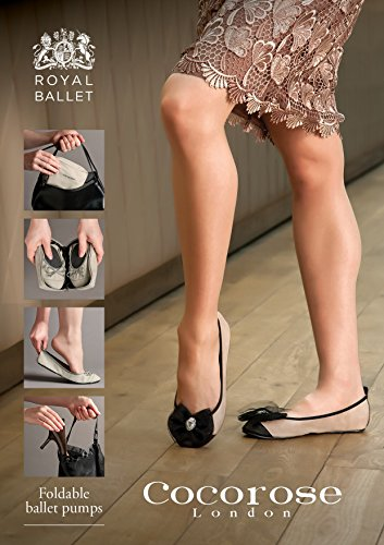 Scarpe Pompe Nudo Balletto Pieghevoli Aurora Di Signore Reale rosa Cocorose HEqdH