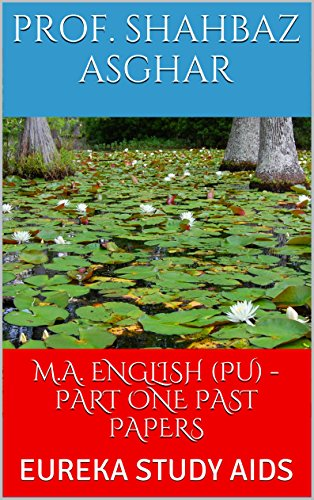 Amazon com: M A  ENGLISH (PU) - PART ONE PAST PAPERS: EUREKA