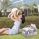 HBlife Baby Diaper Caddy Organizer Nursery Storage