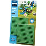 PLUS PLUS – Green Baseplate Duo – Base Accessory for Building and displaying Creations, 4.5 X 4.5 inches, Construction…