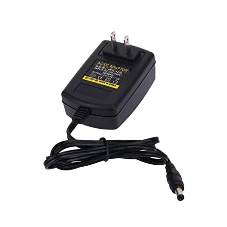 amazon com power supply adapter 5 52 5 mm alloet 100 240v dc12v 2a