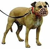 Company of Animals Baskerville Dog Muzzle, Size 12, Suitable for Pit Bull, Staff Bull Terrier