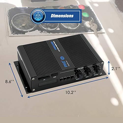 2 2 Channel Bluetooth Audio Marine Amplifier