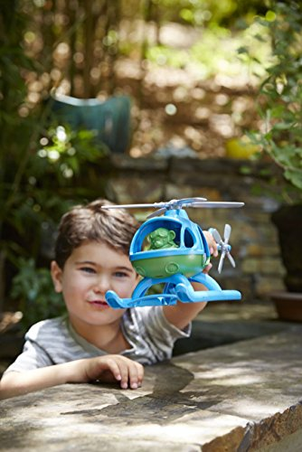 Green Toys Helicopter, Blue/Green