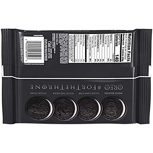 OREO Limited Edition Game of Thrones Themed Classic Chocolate Sandwich Cookies, 15.25 oz. - 3 pack by Oreo (Image #3)