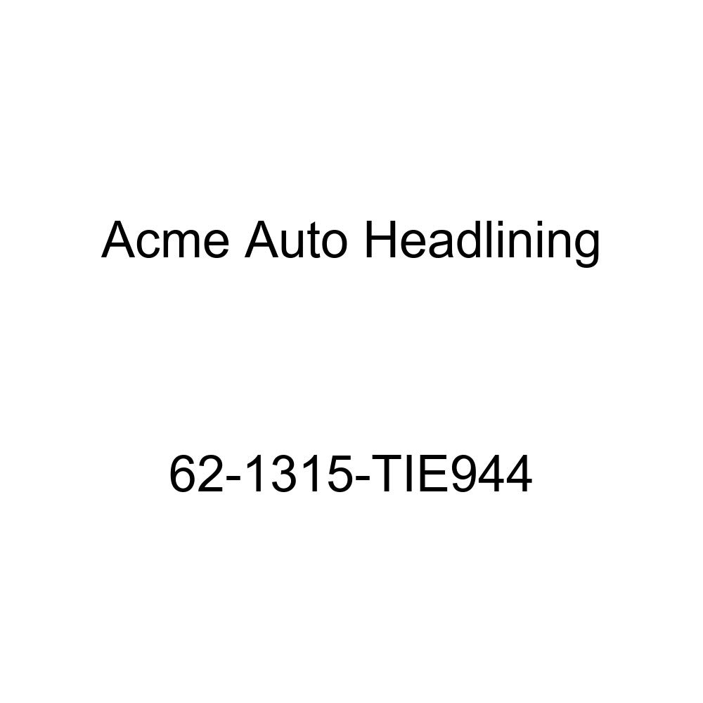 Cadillac DeVille 4 Dr Hardtop w//Wrap Around Rear Glass 6 Bow Acme Auto Headlining 62-1315-TIE944 White Replacement Headliner