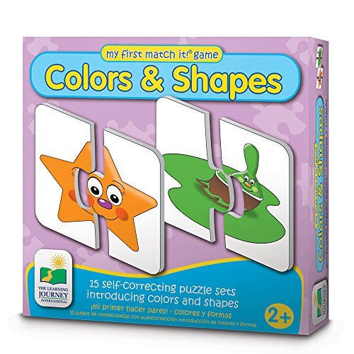 51fJIehuzxL - The Learning Journey My First Match It - Colors and Shapes - 15 Self-Correcting Matching Puzzles for Preschoolers