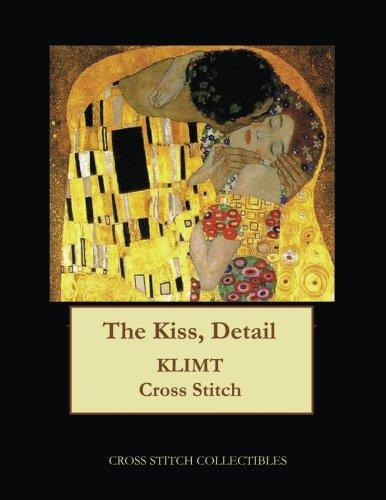 The Kiss, Detail: Gustav Klimt cross stitch pattern