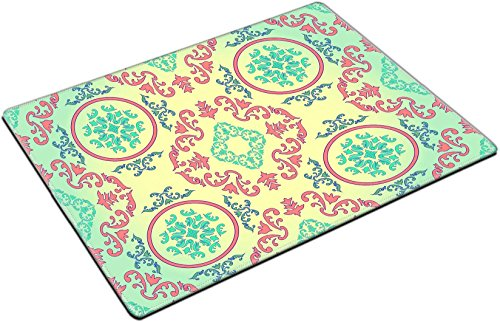 Barocco Place - MSD Place Mat Non-Slip Natural Rubber Desk Pads design 26470802 seamless vector wallpaper in barocco style