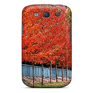 New Arrival Case Cover With OuGKHeb1925Gwihy Design For Galaxy S3- Row Of Trees