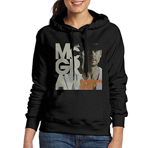 Hane Sea Women's Tim McGraw Classic Cotton Long Sleeve Hoodie Sweatshirt price tips cheap