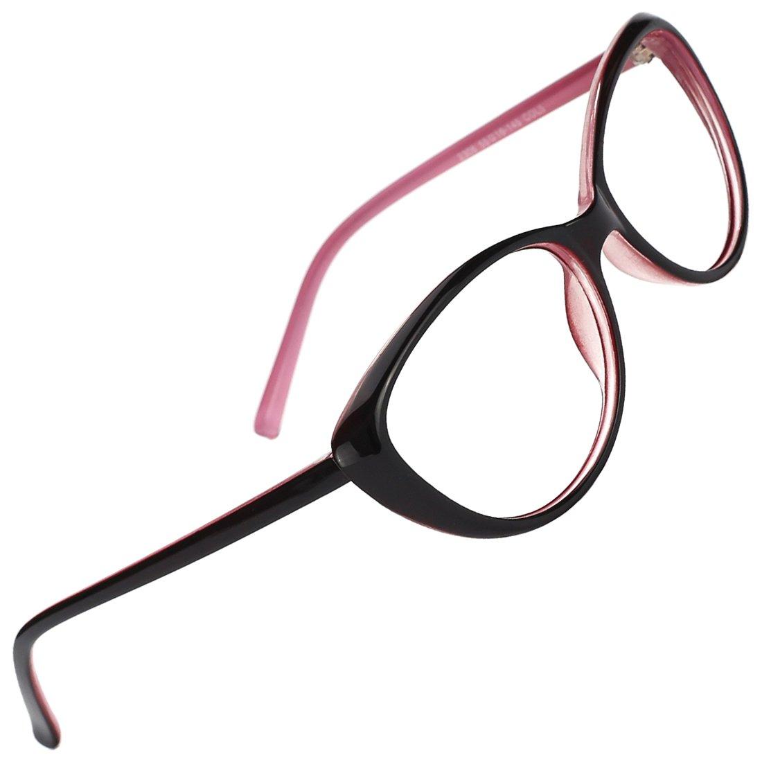 Slocyclub New Vintage Cateye Glasses Full Rim Optical Eyewear for Women 00081501