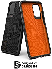 GEAR4 Battersea Designed for Samsung Galaxy S20 Case, Advanced Impact Protection by D3O - Black