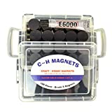 Ceramic Industrial Magnets - Craft, And Hobby Bulk Disc 100pcs. By C&H Magnets