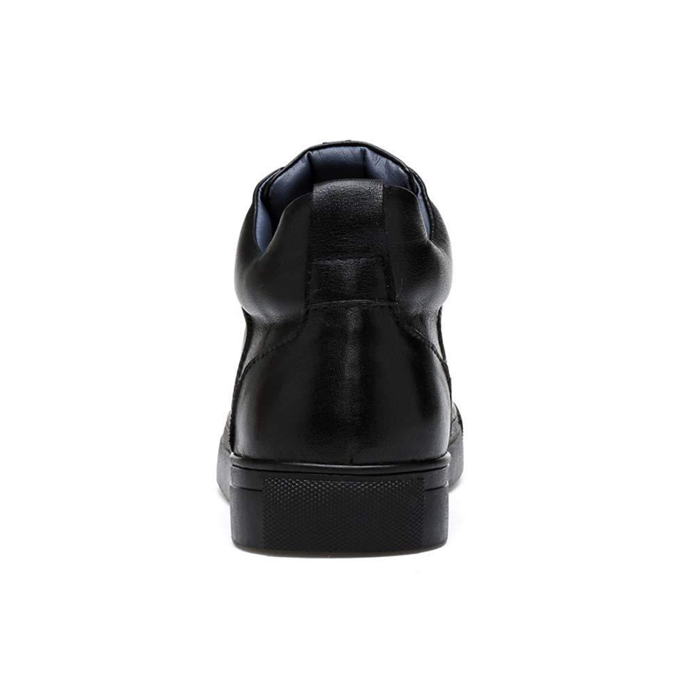 Männer Schuhe Herrenstiefel, Herrenstiefel Hochbesetzte Stiefeletten mit Pailletten Pailletten Pailletten Britische Art und Weise Männer Plus Baumwollstiefel Herrenmode Stiefel (Farbe   EIN, Größe   43) 438e54