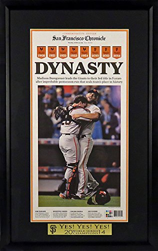 san francisco giants champion poster