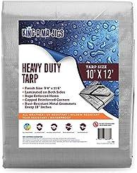 10x12 Heavy Duty Tarp, Waterproof Plasti...