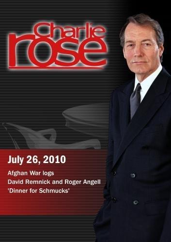 Charlie Rose - Afghan War logs / David Remnick and Roger Angell / 'Dinner for Schmucks' (July 26, 2010) [DVD] [NTSC]