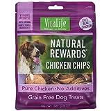 VitaLife Jerky Dog Treats - All Natural, Chicken Chips, 227 g