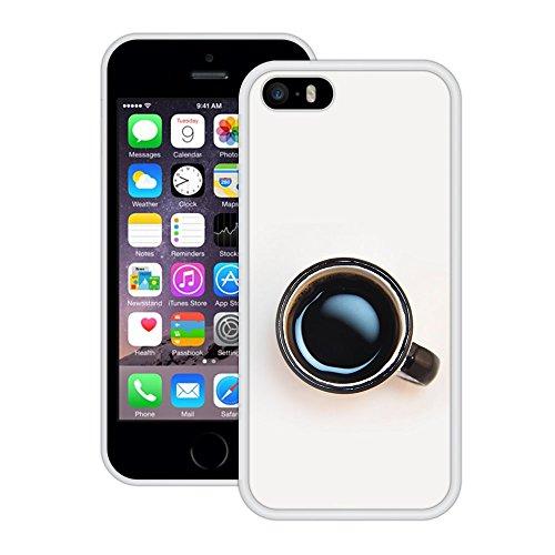 Coffecup | Handgefertigt | iPhone 5 5s SE | Weiß Hülle