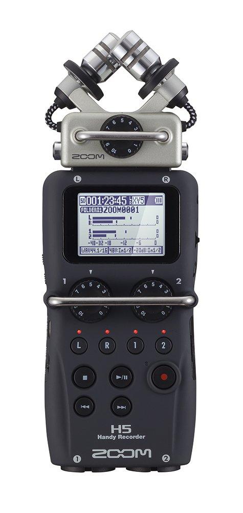 ZOOM リニアPCM/ICハンディレコーダー H5 MSマイクセット B01KJ86Q5U MSマイクセット