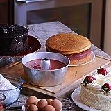 Crown Angel Food Pan Set, Sturdy Heavy