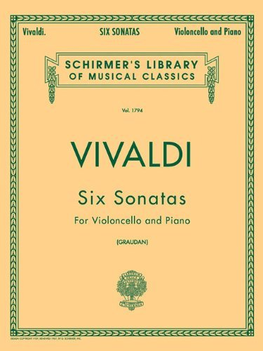 (Antonio Vivaldi Six Sonatas For Cello Vlc by Various (20-Nov-1997) Paperback)
