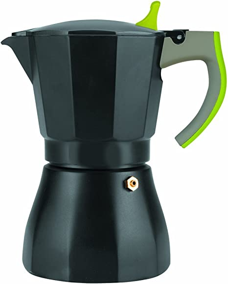 IBILI 621109 - Cafetera Express L´Aroma Verde 9 Tazas: Amazon.es ...