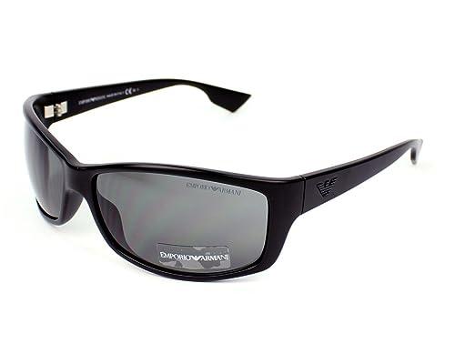 Emporio Armani Gafas de sol EA 9618/S R6DL5 Negro: Amazon.es ...