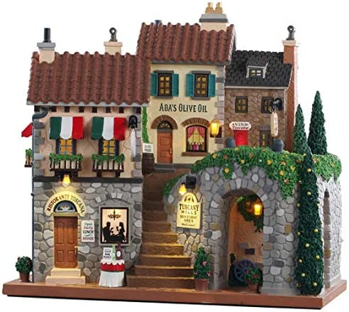 Lemax 10 Inch Tuscany Hills Facade 85320