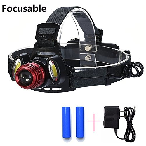 Ultra Bright CAMTOA Focusable Flashlight Rechargeable product image
