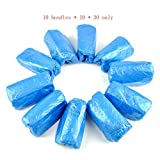 GZZ Disposable Slippers White 3000 Disposable Shoe Covers Thickening Home Machine Room Dustproof Anti-Dirty Odor Foot Cover Shoe Cover 30 Pack Outdoor Waterproof Rain Shoe Cover (Color : Blue)