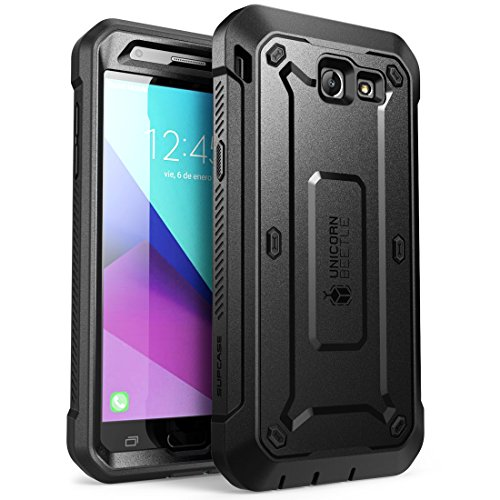 Samsung Galaxy J7 case, Galaxy Halo 2017 Case, SUPCASE Unicorn Beetle Pro Series Full-Body Holster with Built-in Screen Protector for Galaxy Halo/J7 2017/J7 Sky Pro/J7 Perx/J7V 2017/J7 Prime