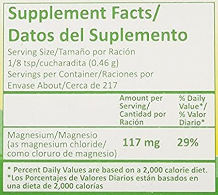 Amazon.com: Magnesium Cloride Miracle Salt 3.5 Oz (100 grs) - Cloruro de Magnesio (Pack of 2): Health & Personal Care