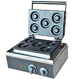 Hanchen FYX-5A ベイクド・ドーナツベーカー 5枚組焼きドーナツ Ф73*14mm 50-300℃温度制御 家庭用 業務用