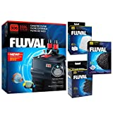 Fluval 306 A212 Canister Filter w/Bio-Foam, Carbon & Polishing Pads Larger Image