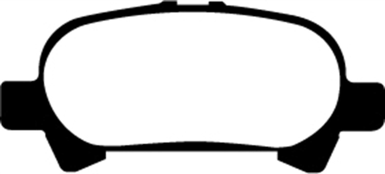 EBC Brakes DP41715R Yellowstuff Street and Track Brake Pad