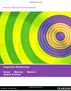 Cognitive psychology 8th edition robert l solso otto h maclin cognitive psychology pearson new international edition fandeluxe Images