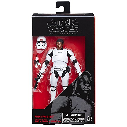 [Finn (FN-2187) Stormtrooper outfit removable helmet, 6 Inch figure Black Series, Star Wars The Force] (Stormtroopers Outfit)