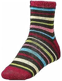 Womens Cozy Cabin Socks Heather Multicolor