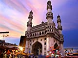 Wee Blue Coo Photography Landmark Charminar Mosque Monument Hyderabad India Canvas Print
