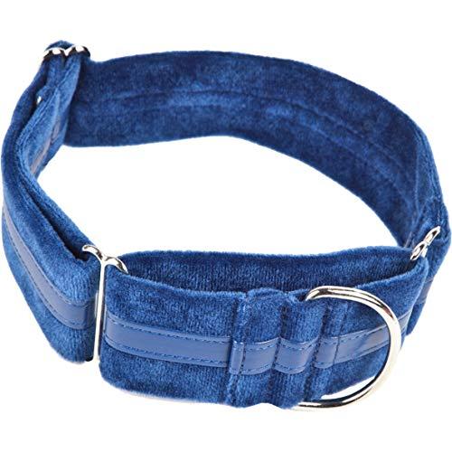 Collar azul muy confortable