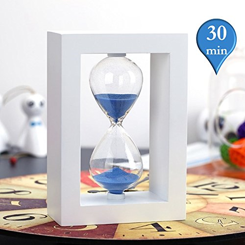 Hourglass MerryNine Kitchen Christmas Timer 30min Blue