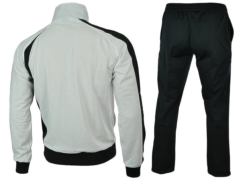 Chándal Asics Suit Diff, Hombre, blanco, XXL: Amazon.es: Deportes ...
